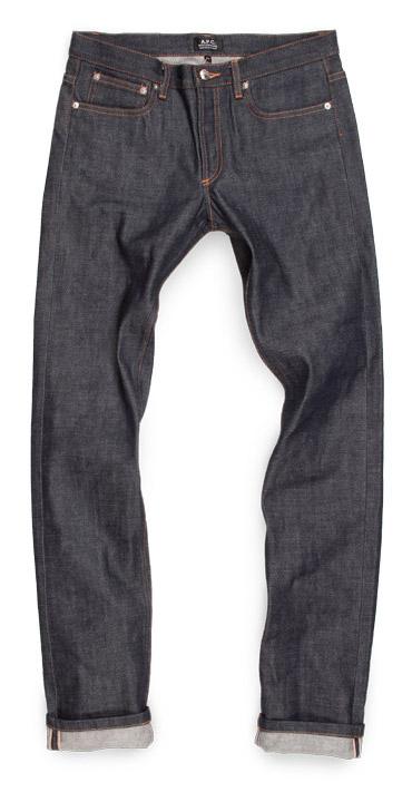 A.P.C. Petit standard selvedge raw denim jeans