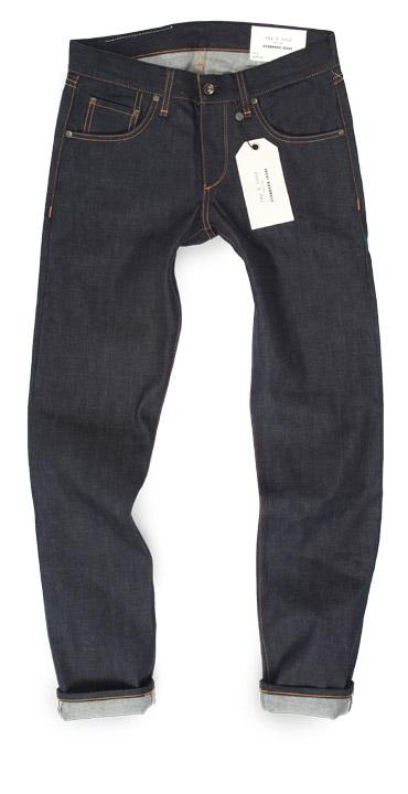 Rag & Bone Standard Issue Fit 2 selvedge raw denim slim American made jeans
