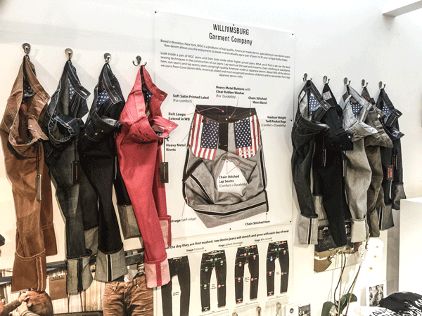 0a37b7898dd Raw Denim & Selvedge American Jeans Brooklyn | Williamsburg Garment Co.
