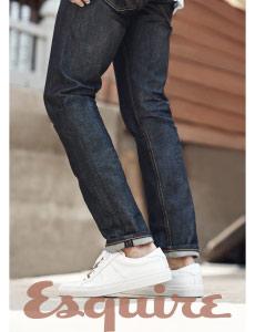 Williamsburg raw denim American made jeans in Esquire