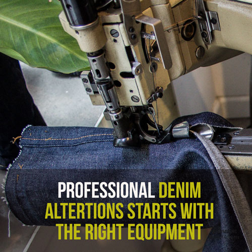 Shop professional denim alterations and jeans repairs